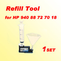 Wholesale Printhead Cleaning Kits - 1x printhead cleaning kit refill tool compatible for HP 18 70 72 80 81 83 88 89 90 91 940 941 k8600 print head