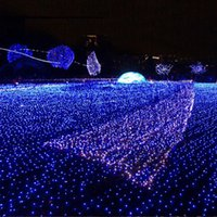 Wholesale 6m Led Netting - 6M*4M 672LEDS Net Lights LED Strings Lights for Christmas Holiday Wedding Decoration Fairy Party