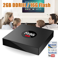 Wholesale 4k Player - 2GB 16GB Android6.0 TV BOX M9S K3 Rockchip RK3229 BT2.1 4K Media Player KD17.3 Add-ons Fully Loaded Support OEM ODM