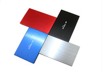 Wholesale Gb Hard Drives - Wholesale- HDD USB 3.0 High speed External Hard Drives 120 GB portable Desktop and Laptop mobile hard disk genuine Free shipping