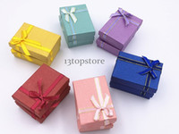 Wholesale Earrings Mix Color Hot Sale - 48Pcs Wholesale 2017 Hot Sale 48Pcs 5*7Cm Mix Color Pendant Earring Ring Jewelry Gift Box