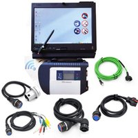 Wholesale Diagnostic Czech - WIFI mb star diagnostic tool for mercedes b enz+HDD 2017.07V software+X200T Touch Screen laptop installed MB SD C4 Xentry for Star Diagnosis