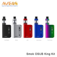 Smok OSUB King Kit 220w Vape Box Mod con Smok TFV8 Big Baby Tank 5ml / 2ml Aggiornamento Smok Osub Plus Kit 100% Original