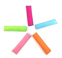Wholesale Wholesale Rubber Block - DHL free shipping 9 Color Neoprene Ice Popsicle Sleeve Pop Holders, Ice Lolly, Ice Block