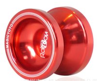 Wholesale T6 Yoyo - Free shipping Hot sale magicyoyo t6 metal professional yoyo ball Match yoyo ball children's toys holiday gift Export for special