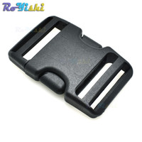 """Wholesale Travel Arch - 10pcs lot 1-1 2"""" Webbing Plastic d Inserting Buckle for Travel Tactical Backpack"""