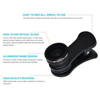 HD 180 ° Fisheye-Objektiv Externe Clip-on-Handy-Kamera-Fotoobjektiv High Definition für die meisten Smartphones