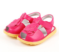 Wholesale Tpr Sole Sandals - little girls sandals PU summer shoes open toe baby girls shoes beach sandal flower chaussure nina sapatos zapato nonslip sole