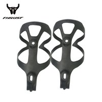 Wholesale Universal Weight - Full Carbon Fibre Black Bottle Holder   Universal Bottle Cage 2Pcs Lot matte Light weight Bicycle Durable Accessories Parts