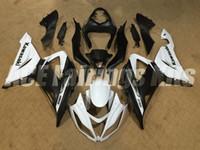 Wholesale Kawasaki Zx6r Matt Black - New Motorcycle ABS Injection Fairing Kits 100% Fit For kawasaki Ninja ZX6R 599 636 13-16 ZX-6R 2013 2014 2015 2016 bodywork matt black white