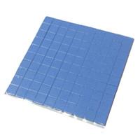 kühlung thermische pads großhandel-Großhandels- 2016 Qualität 10mm * 10mm * 1mm 100 Stück Thermal Pad GPU CPU Kühlkörper Kühlung leitfähigen Silikon-Pad