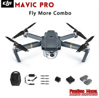 Wholesale 2016 Newest DJI Mavic Pro Fly more Combo Folding FPV Drone With K HD Camera OcuSync Live View GPS GLONASS System RC Quadcopter