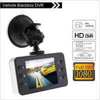 2.4 polegadas Car DVR HD 1080P Car Camera Recorder De 90 graus Dashcam Dash Cam Night Vision com sensor G CAL_318