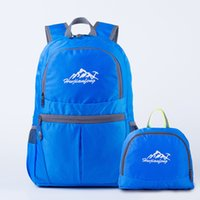Wholesale Foldable Outdoor Tables - Outdoor Lightweight Sports Bag Hot Foldable Women Travel And Climbing Backpack New Men Hiking And Camping Folding Skin Sport Bag