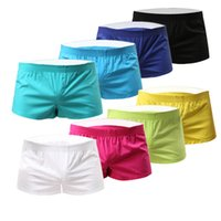 sports knickers - Men Summer Shorts Casual Home Pants Boxers Knickers Swimsuit Beachwear Swimwear Fitness Workout Breeches Sports Jogging Panties