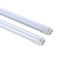 Wholesale T8 9w - Dimmable LED T8 tube 2ft 9W 4FT 18W 22W 1200mm Integrated tubes Lights G13 SMD 2835 LED lighting bulbs 110lm w 3years warranty