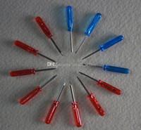 Wholesale E Cigarette Repair - E Cig Repair Tool Mini Screwdriver Cross And Straight Screw-driver For E Cigarette RDA Atomizer DNA 30 Mod T5 Mod Small Ecig Screwdriver