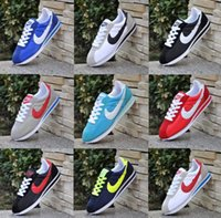 Wholesale Shell Toes - Hot new brands Casual Shoes men and women cortez shoes leisure Shells shoes Leather fashion outdoor Sneakers size 36-44