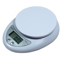 Wholesale Electronic Kitchen Postal Scales - NEW 5000g 1g 5kg Food Diet Postal Kitchen Digital Scale scales balance weight weighting LED electronic