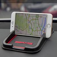 ingrosso anti rilievo antiscivolo per gps-Accessori auto Tappetino antiscivolo Tappetino in gomma per GPS per Audi Benz BMW Accessori per auto styling