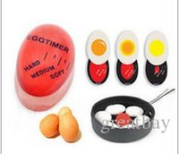 Wholesale Egg Timers - Egg timer Perfect Color Changing Timer Yummy Soft Hard Boiled Eggs Cooking Kitchen