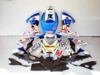4 Free Gifts New hot ABS carenagem kits 100% Fit para Suzuki GSXR600 GSXR750 2006 2007 K6 06 07 R600 R750 GSXR Conjunto de carroçaria Dark dog cool