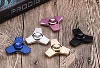 Wholesale Spinners Blades - 2017 Torqbar ED 3 leaf blade Hand Spinner 5 colors Fidget Spinner HandSpinner Toys Fingertip Decompression Anxiety gyro Retail Box