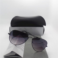 Wholesale Designer Eyeglasses Frame - New Sunglasses For Women Men Frame Brand Designer 54mm Size UV400 Protection Vintage eyeglasses Retro Sun Glasses With Box Cases