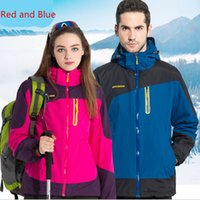 Wholesale Windbreaker Jackets Couples Clothes Down Jacket Camping Hiking Wear Windproof Waterproof Keep Warm Jackets Camping Hiking Jacket
