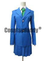 Wholesale Cosplay Wearing School Uniform - Detective Conan Female School Uniform cosplay costume party wear