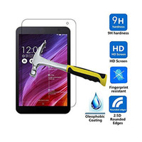Wholesale Asus Memo Pad Protectors - Explosion Proof 9H 0.3mm Screen Protector Tempered Glass for Asus Memo Pad 7 ME176C ME176CX Memo Pad 8 ME181C