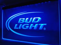 LE003- Bud Lite Cerveza Bar Pub Club Logo LED Neon Light Sign