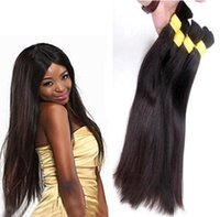 origins weft - Top Grade unprocessed100 Pure Origin Virgin Remy Human Hair bulking high selling straight human virgin HAIR BULK