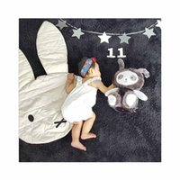 Wholesale Carpets For Children - Ins Hot Baby Rabbit Ears Playmats Toddler Carpets Home Decoration Floor Mat For Kid Baby Children Climbing