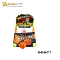 Wholesale Toys Basketball Board - Hot fashion basketball board hoop sport toy 2 pieces including basketball and board hoop for boy's gift Free Shipping