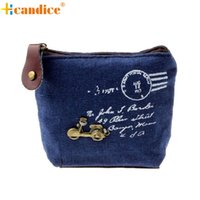 Wholesale Drop Shipping Purses - Wholesale- Naivety 2016 New Portable Fashion Retro Coin Purse Bag Wallet Card Case Handbag JUN20 drop shipping