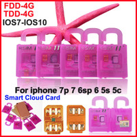 Wholesale 3g Gsm Cards - R SIM 11+ RSIM11 plus r sim11+ rsim 11 unlock card for iphone7 iPhone 5 5s 6 6plus iOS7 8 9 10 ios7-10.x CDMA GSM WCDMA SB SPRINT LTE 4G 3G