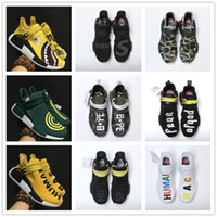 Wholesale Shark Rubber - With Original Box NMD EOOOCX Pharrell Williams Boost Shark XR1 Duck Camo Fear of God x Birthda Human Race Fashion Casual Sports Running Shoe