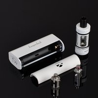 Wholesale subbox mini for sale - Group buy kanger subbox mini starter kit black white color w kbox mini kanger Electronic Cigarette subox mini starter kit