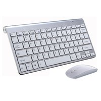Wholesale highest laptop for sale - K108 High Quality Ultra Thin Wireless keyboard Mouse G keyboard Mouse Combo and G USB Receiver for PC Laptop Tv BOX