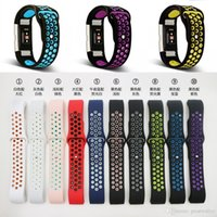 New Replacement Double Color Silikon Armband für Fitbit Charge 2 Band Strap Wristband Uhrenbänder für Fitbit Charge 2