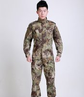 Wholesale Multicam Free - Men's Multicam Black Military Uniform Camouflage Suit Tatico Tactical Military Camouflage Airsoft Paintball Equipment Clothes Free Shipping