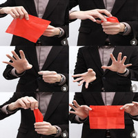Wholesale Funny Magic Tricks - Magic wholsale New Magic Trick Close Up Thumb Finger Vanish Appearing Stage Magician Props birthday  party show ! funny gift