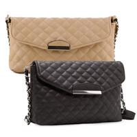 Wholesale Envelope Crossbody Purse - Wholesale-2016 New Design Women Crossbody Shoulder Bag Fashion PU Leather Handbag Clutch Bag Ladies Tote Purse Hobo Messenger Bags Bolsos