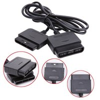 1.5m Gamepad Game Controller Extension Cable Cabo Lead para Sony Playstation PS1 PS2 Console Black TRANSPORTE GRATUITO