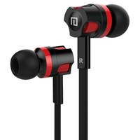 marka mikrofon toptan satış-Langsdom kablolu Kulakiçi JM26 Orijinal Marka Kulaklık Cep Telefonu için Mikrofon ile Kulaklık Iptal Yeni Kulaklık Gürültü