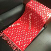 Wholesale leather ruffle skirt online - Factory Sale Brand Men Scarf for Winter Women brand designer Tassel scarfs warm long section of thicker scarf print double faced CM