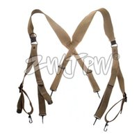 Wholesale WW2 US Army M1936 Combat Field Equipment Sling Tactical Belt Suapenders