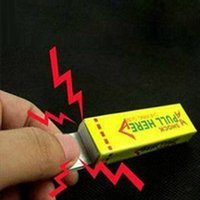 Wholesale Wholesale Toy Prices - New Interesting Toys Electric Shock Shocking Funny Pull Head Chewing Gum Gags Safety Trick Joke Toy Novelty Items Lowest Price