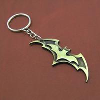 batman anahtarlık toptan satış-Süper kahraman Batman Anahtarlık Erkekler Biblo Süper Kahraman Marvel Araba Anahtarlık Chaveiro Anahtarlık Tutucu Takı Hediye Hediyelik Eşya